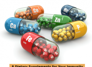 8 Dietary Supplements for Your Immunity