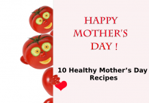 Heathy Mothers Day Recipes