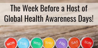 Weekly Wrap-Up: The Week Before a Host of Global Health Awareness Days!