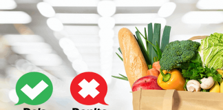 Dos and Don'ts of Healthy Grocery Shopping