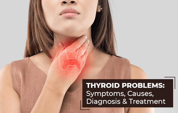 Thyroid Problems Symptoms Causes Diagnosis And Treatment