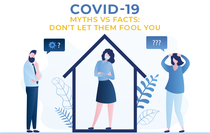 9 Must-Know Myths And Facts About COVID-19